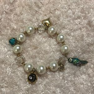 Betsey Johnson Vintage Bird Bracelet